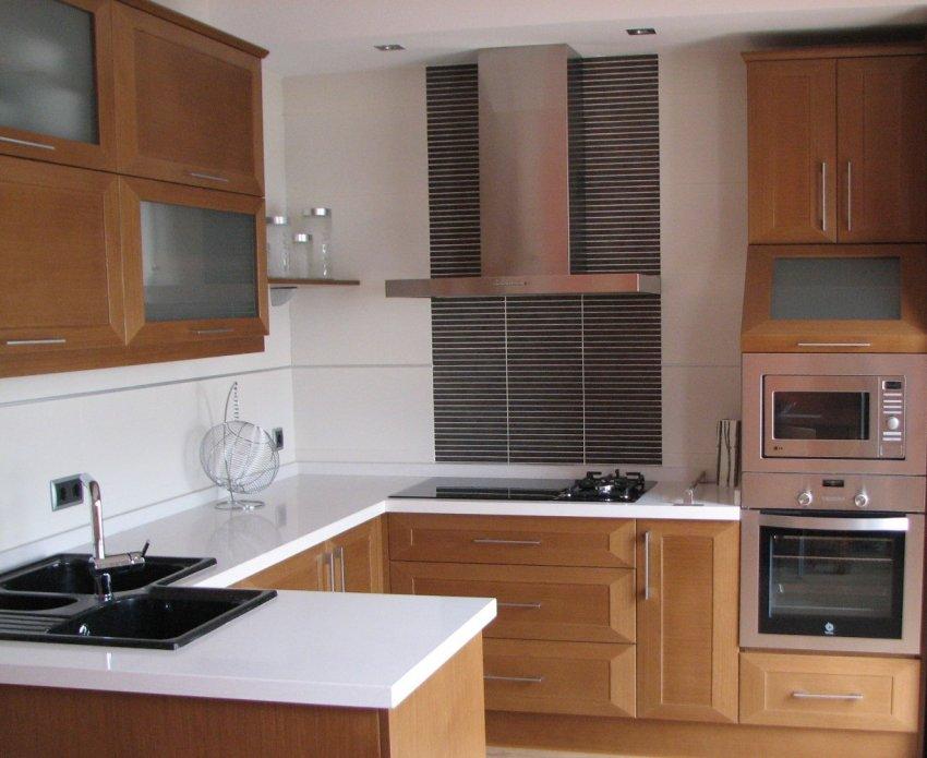 Cocinas en madera muebles los pepotes for Muebles cocina madera